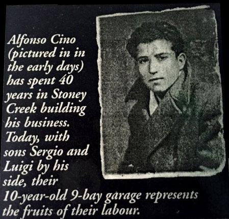 Cino Auto Repair Young Alfonso Cino