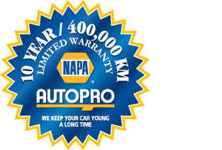 Napa Autopro Warranty