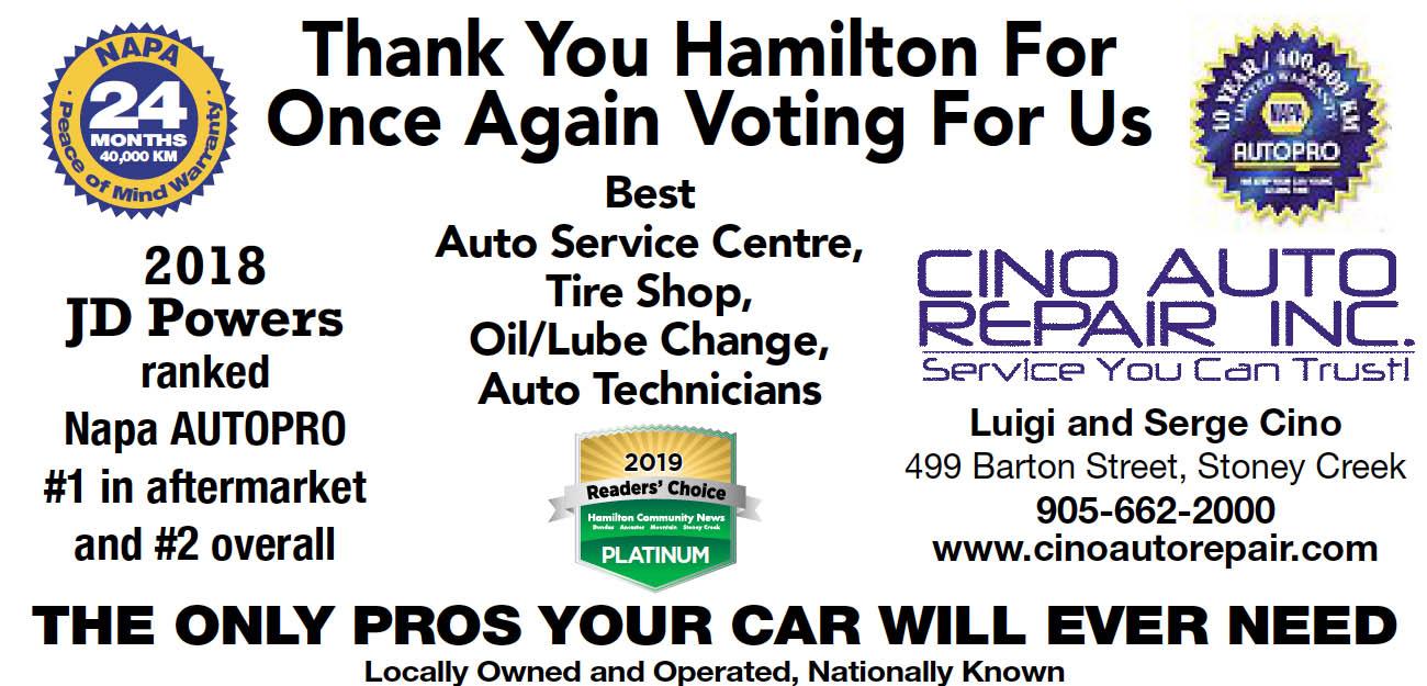 Auto Repair Services >> Auto Repair Service Stoney Creek Cino Auto Repair Cino